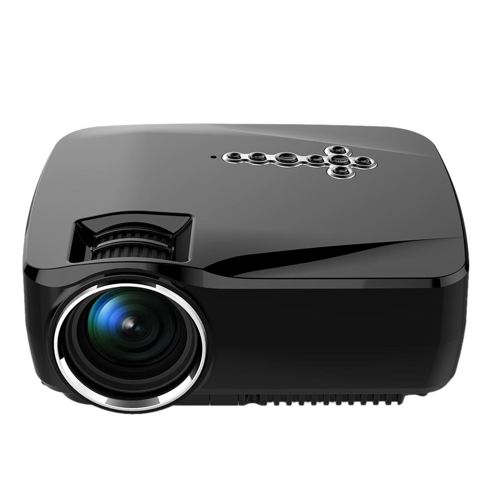 Best gp70up led projector android wi fi bluetooth smart tv for Best wireless mini projector