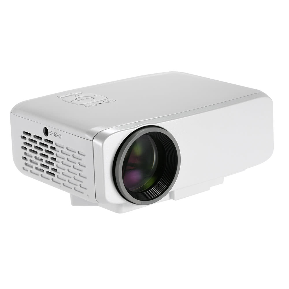 Best gp9s portable led projector vga hdmi tv sd av for Pocket projector hdmi input