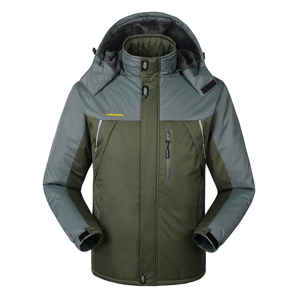 Best Men's Windproof Fleece army green xxxl Sale Online Shopping ...