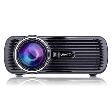 Uhappy Mini Portable Multimedia HD LED LCD Projector