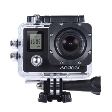 Andoer 4K 30fps/1080P 60fps Full HD Action Camera with Remote Control