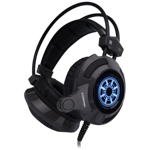 Cosonic G9 Professional Esport Gaming Stereo Music Headset Headphone Bass