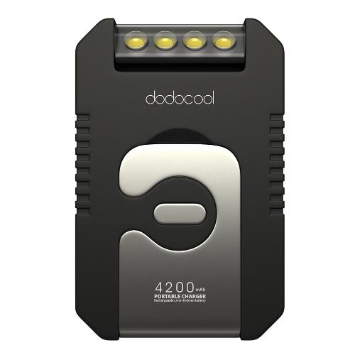dodocool Portable 4200 mAh Solar Charger