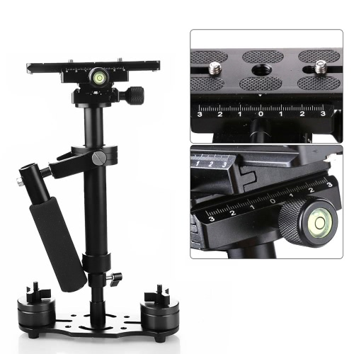 S40 40cm Handheld Stabilizer Steadicam for Camcorder Camera