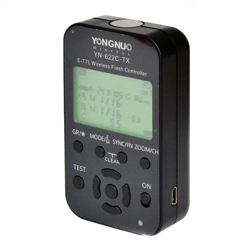 YONGNUO YN-622C-TX LCD Flash Transmitter for YN-622C Trigger for DSLR Camera