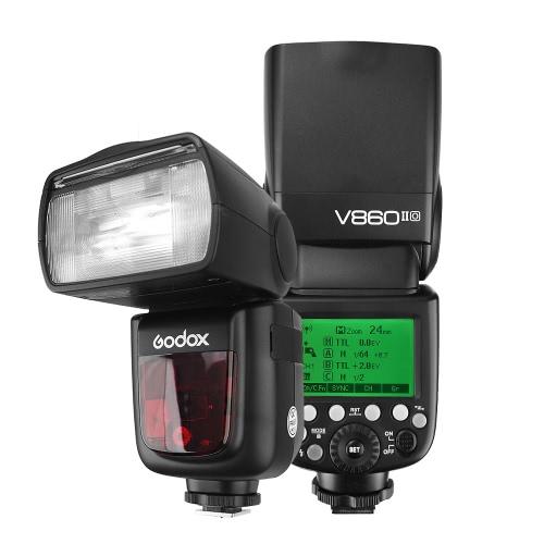 Godox VING V860IIO Pioneering TTL Li-ion Camera Flash Master & Slave Flash Speedlite