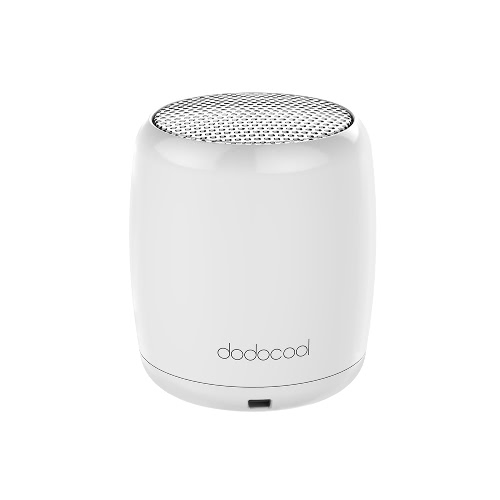 dodocool Mini Portable Rechargeable Wireless Speaker with Built-in Microphone