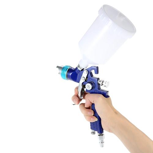 1.7mm Nozzle  Professional Gravity Feed HVLP Paint Spray Gun