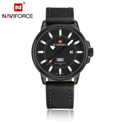 NAVIFORCE 3ATM Water Resistant Classic Analog Man Watch
