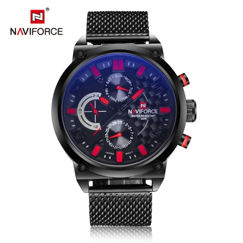 NAVIFORCE Professional 3ATM Water Resistant Man Watch