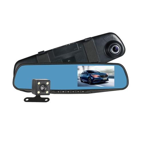 FHD 1080P Dual Lens Car DVR