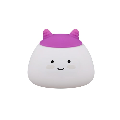 1.6W 8 LEDs Creative Cute Mascot Night Light