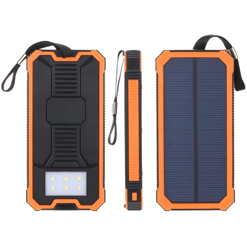 Portable Multifunctional 5000mAh Solar Power Bank Charger