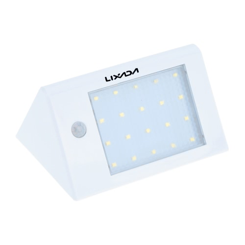 Lixada Solar Powered Wireless PIR Motion Light