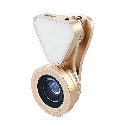 LIEQI LQ-035 3 in 1 Clip-on Optical Glass Lens