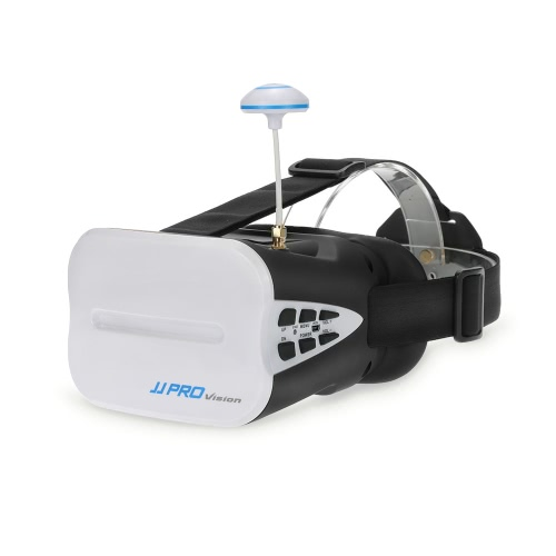 JJRC JJPRO F01 5.8G 3D Goggles Wireless FPV Glasses with 5in VR Monitor