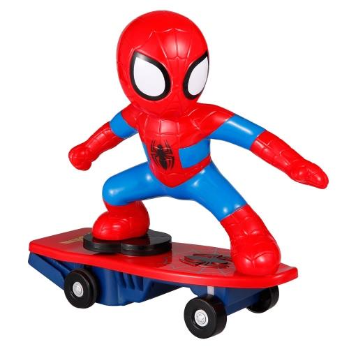 Super Heroes Spiderman RC Skateboard