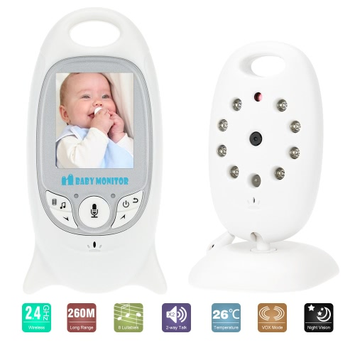 beste vb601 baby monitor lcd drahtloser mit 8ir led us stecker verkauf. Black Bedroom Furniture Sets. Home Design Ideas