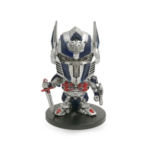 Transformers The Last Knight Super Deformed Figure Optimus Prime Action Figure Toy for Kids
