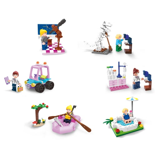 XIPOO 6 Building Blocks Sets Educational Toys