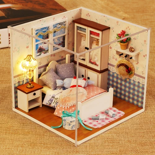 DIY House Miniature Kit Dollhouse ...