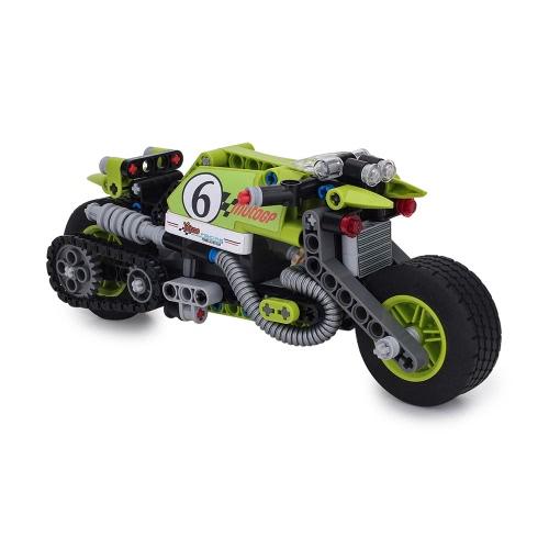 BIOZEA Building Toys Motorcycle Building Block Sets