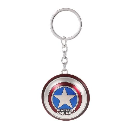 Marvel The Avengers Key Ring Captain America's Shield Metal Key Chain
