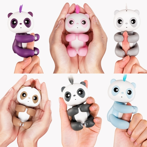 Fingertip Panda Smart Touch Induction Pet Toys