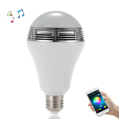 TS-D03 Smart LED Speaker Wireless Bluetooth Speaker with LED Light Bulb APP Control