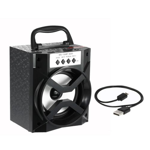 MS-134BT Wireless Bluetooth Speaker Multimedia Mobile Loudspeaker USB &3.5mm
