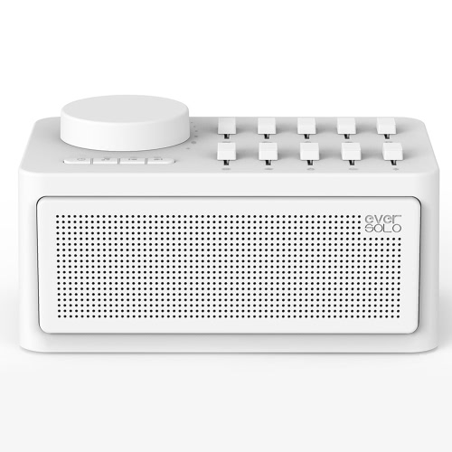 ZIDOO Sleep Therapy Sound Machine Bluetooth 4.2 Wireless Speaker