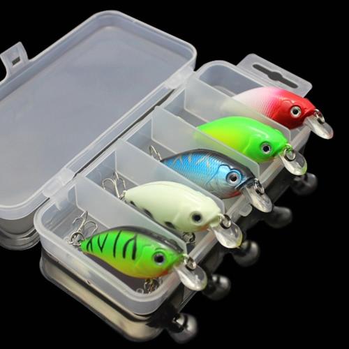 Lixada 5pcs Fishing Lures