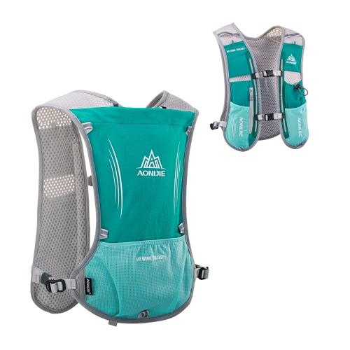 AONIJIE Reflective Vest Sport Water Bottle Backpack Bag