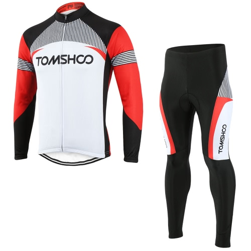 TOMSHOO Long Sleeve Bicycling Jersey w/ Pants